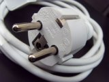 EU-Stecker 1.8m Wechselstrom-Adapter-Extensions-Kabel-Netzkabel für MacBook Luft-PROaufladeeinheit USA/EU/Au/UK
