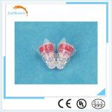 Protección auditiva del Shooting del silicio con el filtro