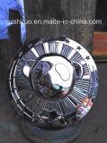 Sculpture en acier inoxydable Panda en relief avec des produits en acier inoxydable