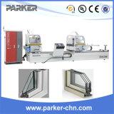 Máquina de estaca da cabeça do dobro da porta do indicador da liga de alumínio com CNC