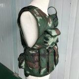 軽量の戦術的な公然の柔らかい防護着の防弾チョッキケブラー物質的なNij Iiia T017