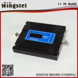 De dubbele GSM WCDMA van de Band 2g 3G 4G Mobiele Spanningsverhoger van het Signaal voor de Telefoon van de Cel