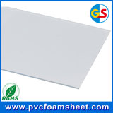 Feuille blanche de mousse de PVC
