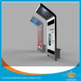 250W zonne Mobiel het Laden van de Telefoon Station met het Aanplakbord van de Advertentie