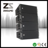 Structure coaxiale Tri-AMP Dual 12 Inch Line Array Speaker