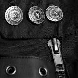 パンクの激賞のまっすぐ足によっては喘ぐ人の締める物の金属のズボン(K-279)が
