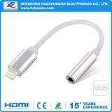 para el cable aux. del adaptador del auricular 3.5m m del iPhone 7