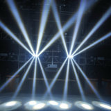 4in1 LEIDENE 8*10W RGBW Spin (hl-017YT)