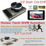 "Full HD de 3,0"" Slim1080p Carro Black Box hidden car DVR Alto-G-Sensor, Detecção de Movimento, WDR, 5.0Mega carro móvel de câmara Digital Video Recorder DVR-3011"