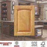 Portello poco costoso dell'armadio da cucina di legno solido (GSP5-012)