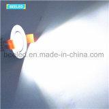 거울같은 3W Dimmable에 의하여 중단되는 차가운 백색 프로젝트 상업적인 LED Downlight