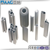 제조자에서 Rfq 그림에 의하여 OEM에 의하여 주문을 받아서 만들어지는 알루미늄 밀어남 단면도