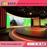 Piscina de cor total de publicidade digital HD Tela LED com bicicleta e instalação fixa (P2.5, P3, P3.91, P4, P4.81, P5, P6mm)