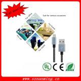 Großhandelsuniversaldoppel-USB-aufladenkabel USB-Daten-Kabel