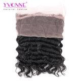 """360 cabelos frontais do Virgin do laço cheio, fechamento do Frontal do laço do cabelo humano da onda de 22.5 """" X4 """" Loowe"""
