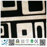 Tissu flocé de motifs floraux pour canapé et rideau / ameublement
