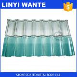 Цвет камня чип металла с покрытием черепичной крышей