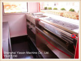 Chariot mobile multifonctionnel de nourriture de véhicule de la cuisine Ys-Et230 électrique