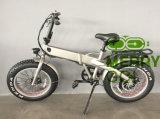 Ciudad gorda ocultada batería Ebike del neumático de Electirc de la E-Bicicleta compacta
