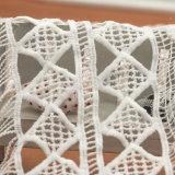 nel tessuto africano all'ingrosso materiale del merletto della guipure del merletto di riserva