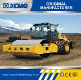 XCMGの公式の製造業者Xs263j 26tonは販売のためのドラムゴム製タイヤの道ローラーを選抜する