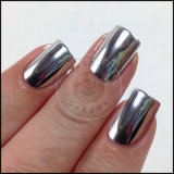 Metal cromado espejo de plata de pigmento en polvo para Gel Polish