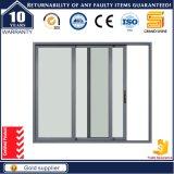 Système de porte coulissant coulissant à chaud avec cadre en aluminium