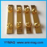 Pinos de segurança da alta qualidade para ímãs do emblema conhecido do Neodymium do emblema