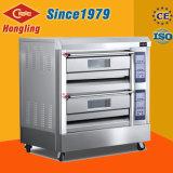 De beste Oven van het Gas van het Dek van de Apparatuur van de Bakkerij van de Efficiency Dubbele voor Prijs