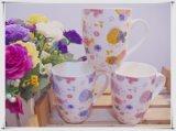 Nuovo disegno lle tazze di ceramica dalle 10 once Milk&Coffee&Ttea