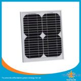 Módulo solar monocristalino de 5 watts para energia solar do sistema de energia