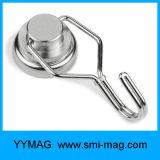 Potencia fuerte 50ibs ganchos de leva magnéticos de acero del eslabón giratorio de 360 grados