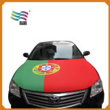 Bandeira feita sob encomenda da tampa da capa do carro da tela elástica para competir