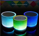 FM 라디오를 가진 LED 가벼운 무선 방수 Bluetooth 스피커