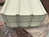 La tôle ondulée Tuile de feuilles de métal recouvertes de zinc pour matériaux de construction