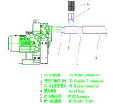 Dreistufiges Turbulenz-Gebläse-Vakuum Bomba