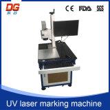 Гравировальный станок маркировки лазера высокого качества 3W UV для стекла