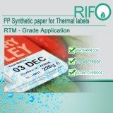 Sans BPA sensibles des étiquettes à transfert thermique des matériaux par rouleau Jumbo