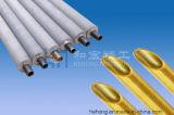 Aluminiummessinggefäß, Al-Messing C68700 Gefäß, Messing C44300, kupfernes Nickel C70600 C71500 für Meerwasser-Entsalzen, Wärmetauscher, nahtloses Messinggefäß