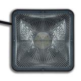 luz quadrada branca do dossel do diodo emissor de luz 5000k da luz do dia 60W com excitador do UL