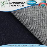300GSM Hot Indigo de venda a quente Terry Knitted Denim Fabric for Garments