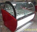 22 Placas Gelato Ice Cream Showcase Congelador