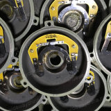 motor assíncrono da C.A. Electirc dos capacitores 0.5-3.8HP dobro monofásicos para o uso do cortador de grama, manufatura do motor de C.A., negócio
