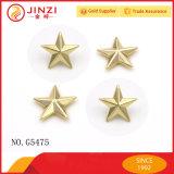 カスタム品質の青銅カラー装飾的な金属の星のリベット
