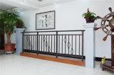 Balcón de acero galvanizado decorativo de alta calidad 11 que cercan con barandilla de la aleación de Haohan Alluminum