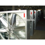 Net + Obturateur 400mm d'épaisseur Poultry Farm Used Hammer Drop Exhausted Fan