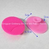 На заводе силиконовая поверхность чистящей щетки вращающегося пылесборника на лице силиконовый высокого качества