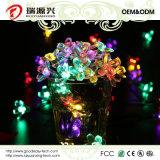Impermeables cadena luces solares hada de las flores