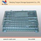 Складывая Stackable хранение металла ячеистой сети штабелируя контейнер