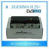 S2X Fernsehapparat-Kasten DVB S2 + DVB S2X + DVB T2/C Zgemma H. 2s+